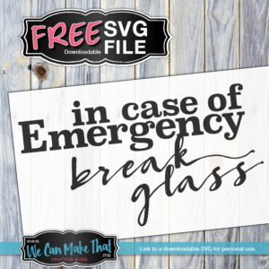 Free SVG Coffee Emergency
