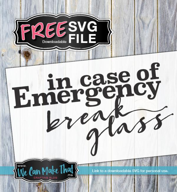 Free SVG Coffee Emergency