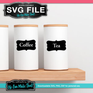 Free SVG label