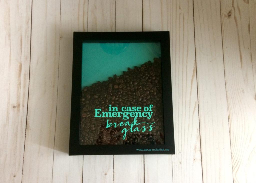 Coffee Emergency FREE SVG