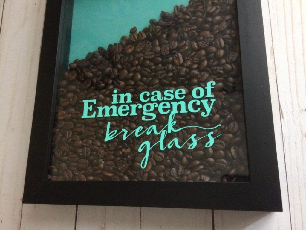 Coffee Emergency SVG