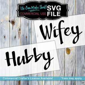 Hubby-Wifey Commercial Crafter's License