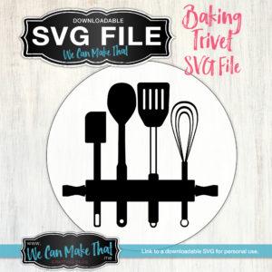 SVG Baking Trivet