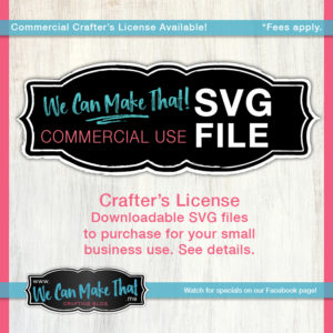 Commercial License SVG