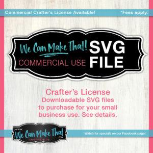 Commercial License SVG