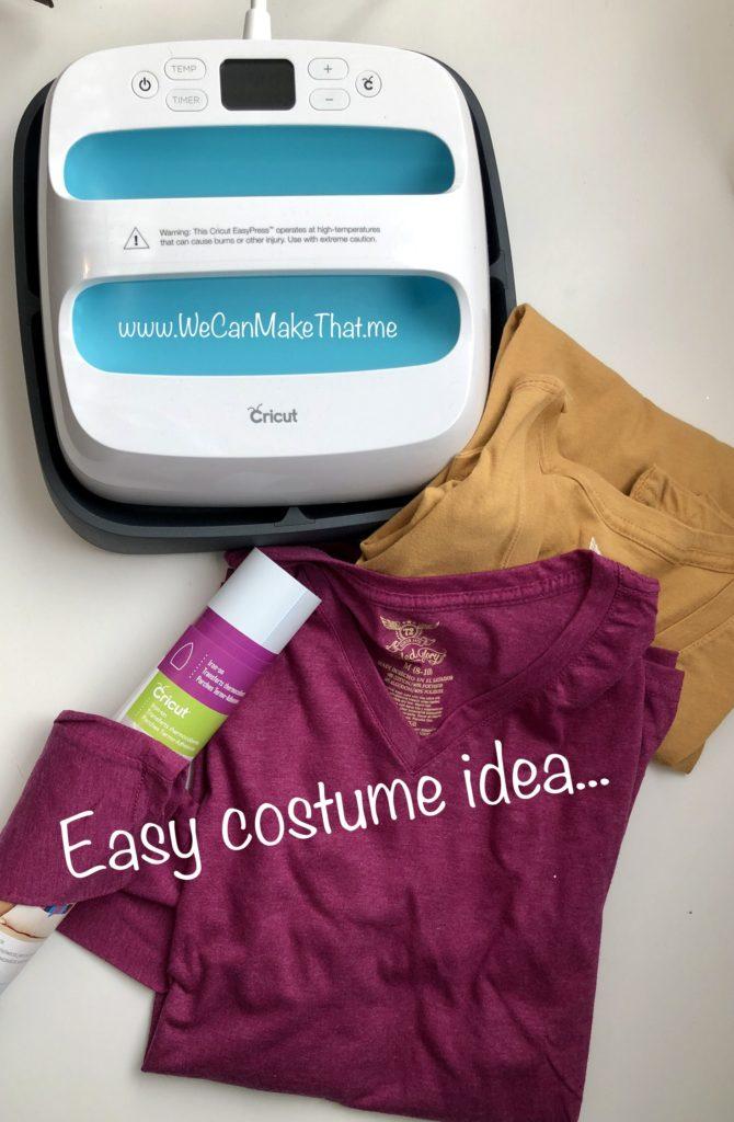 DIY Teen Halloween costume idea
