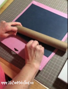 Removing Iron on from mat