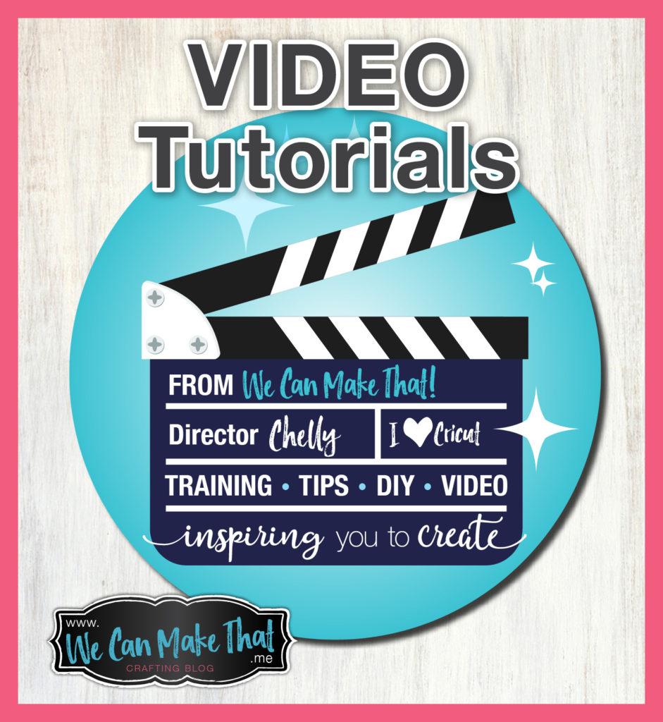Cricut Video Tutorials