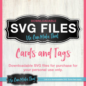 SVG Cards and Tags