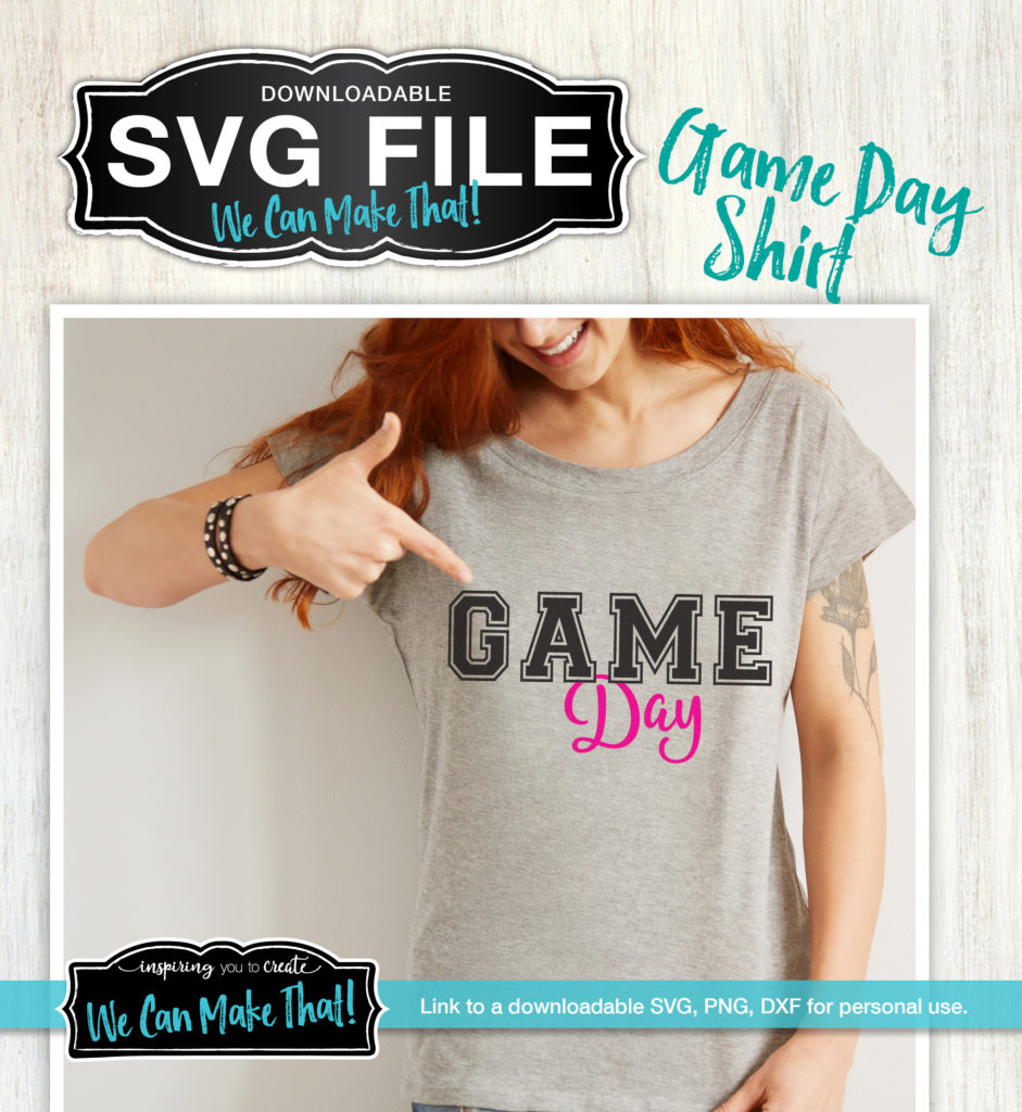 Game Day SVG, Changing colors on SVGs