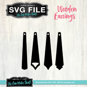 Earring SVG files