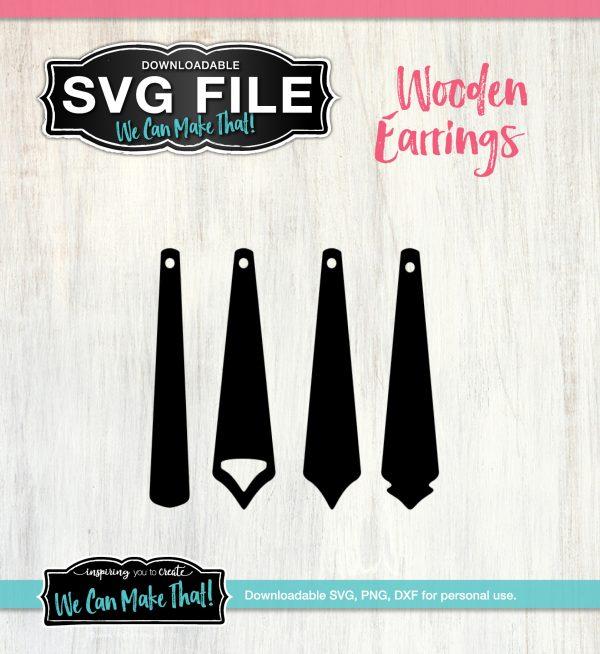 Earring SVG files