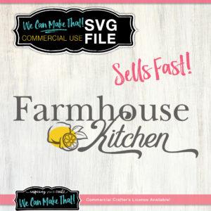Lemon Farmhouse SVG Commercial use