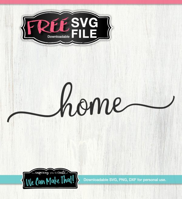 FREE Home SVG for Cricut