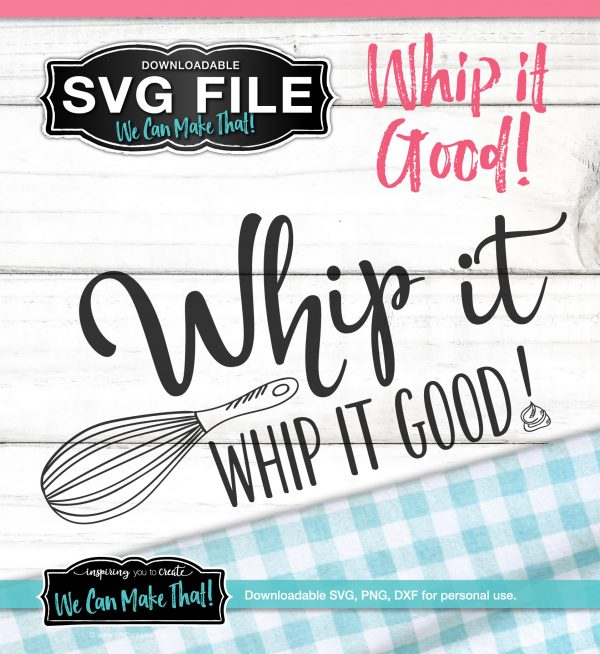 Whip It SVG file