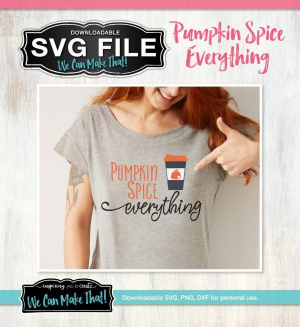 Pumpkin Spice SVG