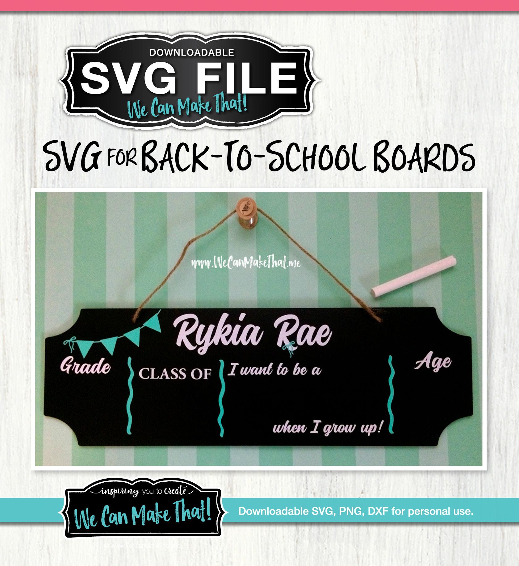 Back to school boards SVG File
