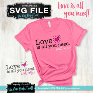 Love Is All You Need SVG