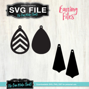 SVG Earrings set