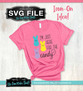 I'm just here for the Candy SVG