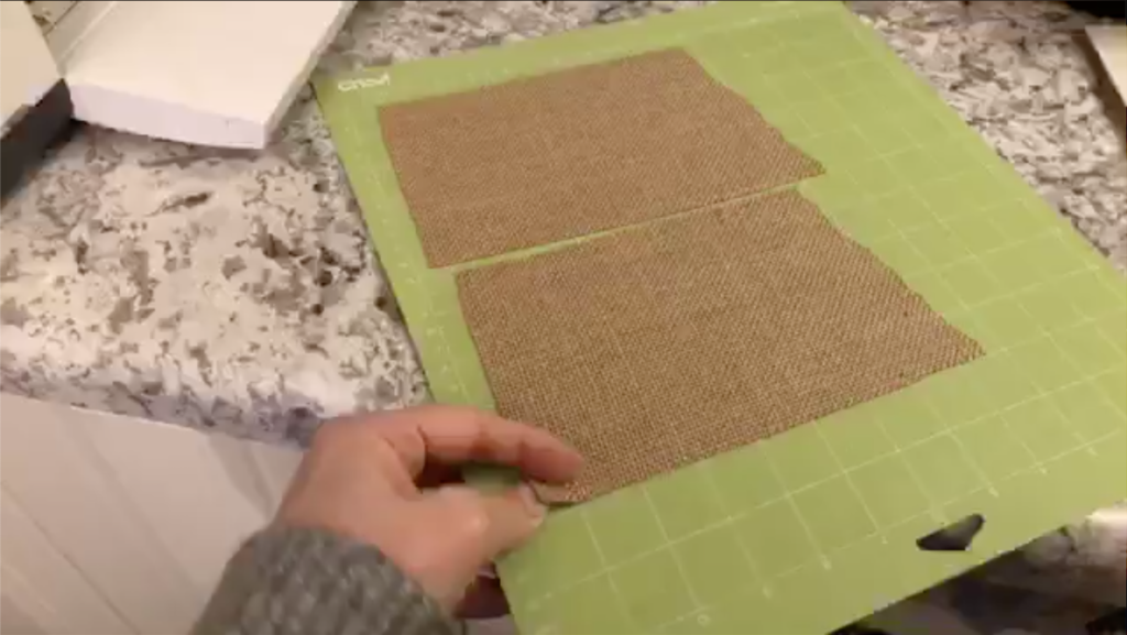 Create Burlap State Signs on Cricut