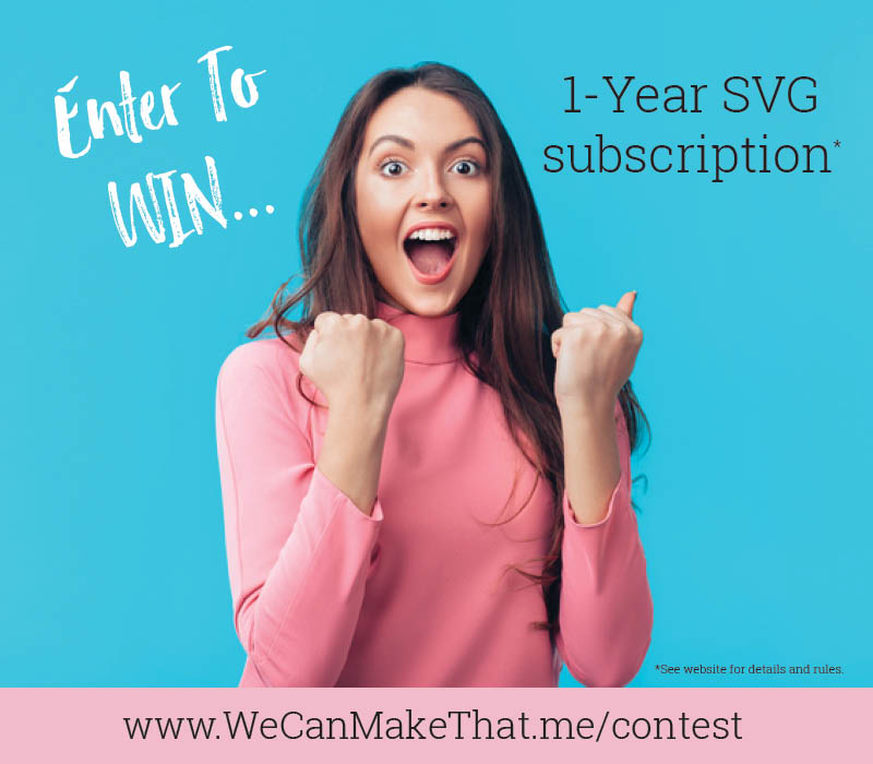 Win an SVG Subscription Membership