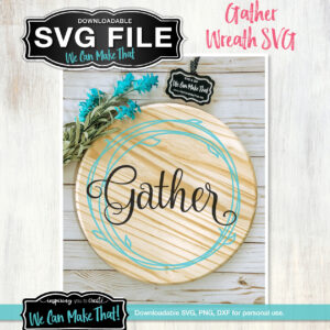 Gather Wreath SVG