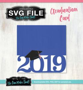 2019 Graduation Card SVG