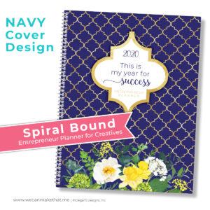 Entrepreur Planner Navy Cover
