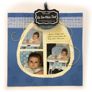 Bib Scrapbook page idea