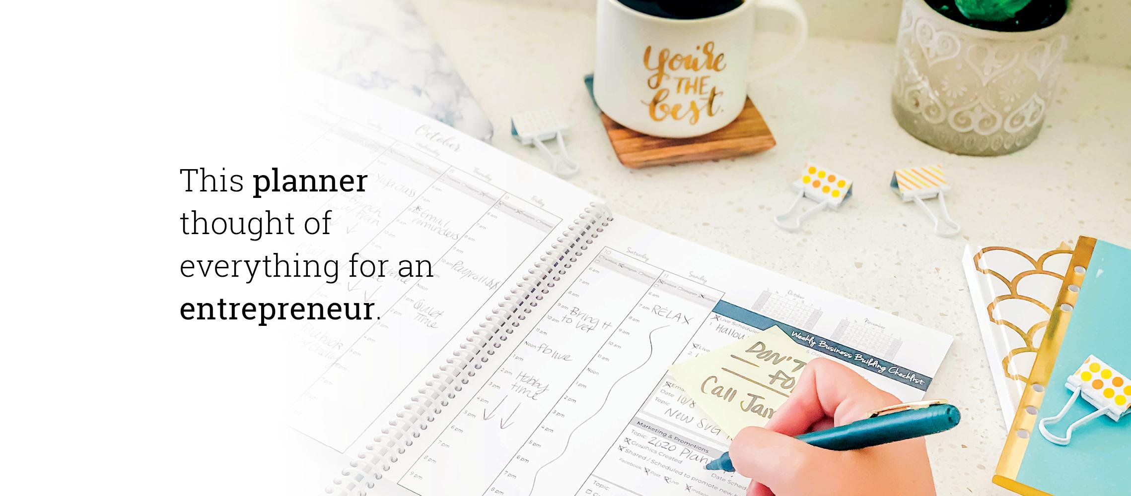 Entrepreneur Planner