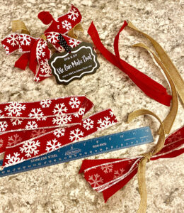 Ribbon for your Christmas tree