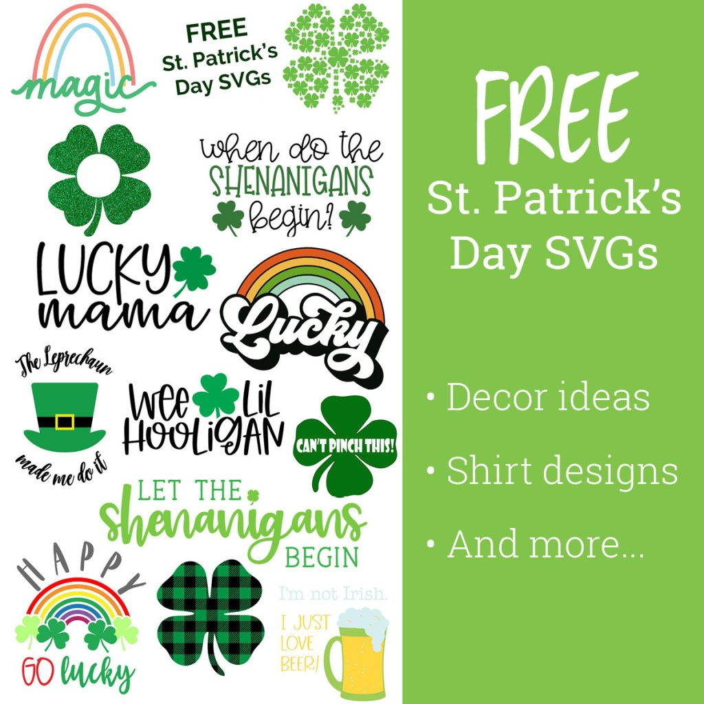St. Patrick's Day Free SVGs