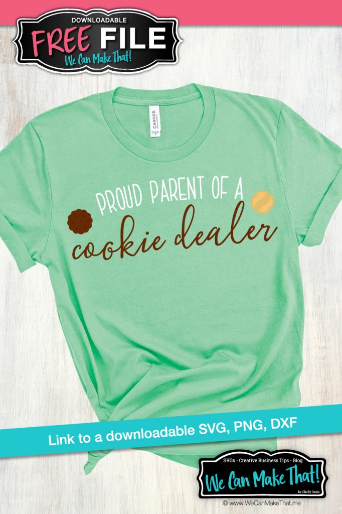 Girl Scout Cookie SVG