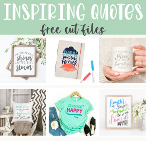 Inspirational Quote SVGs