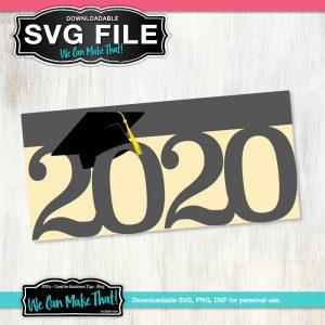 Graduation Card 2020 SVG