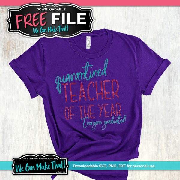 Quarantined teacher of the year SVG