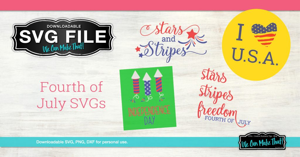 4th of July SVGs