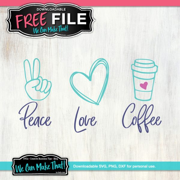 Peace and Love Free SVGs