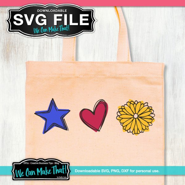 Summer SVG on tote