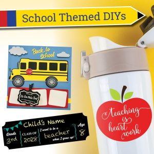 back to school diys