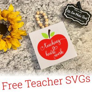 Free Teacher SVG