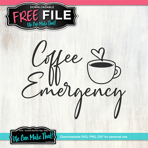 Free Coffee SVG