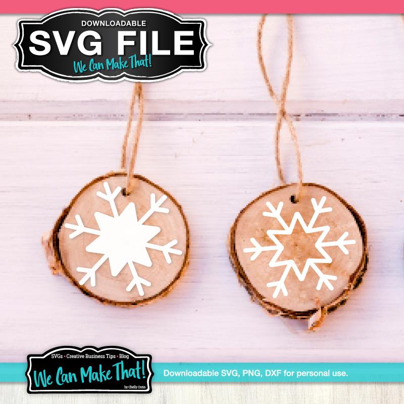 Free Snowflake ornament