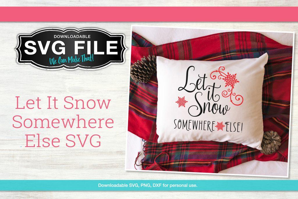 Free snow SVGs