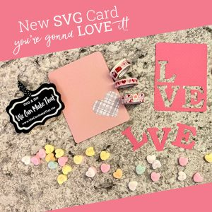 SVG Valentine's Day cards