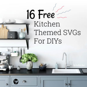 Free Kitchen SVGs