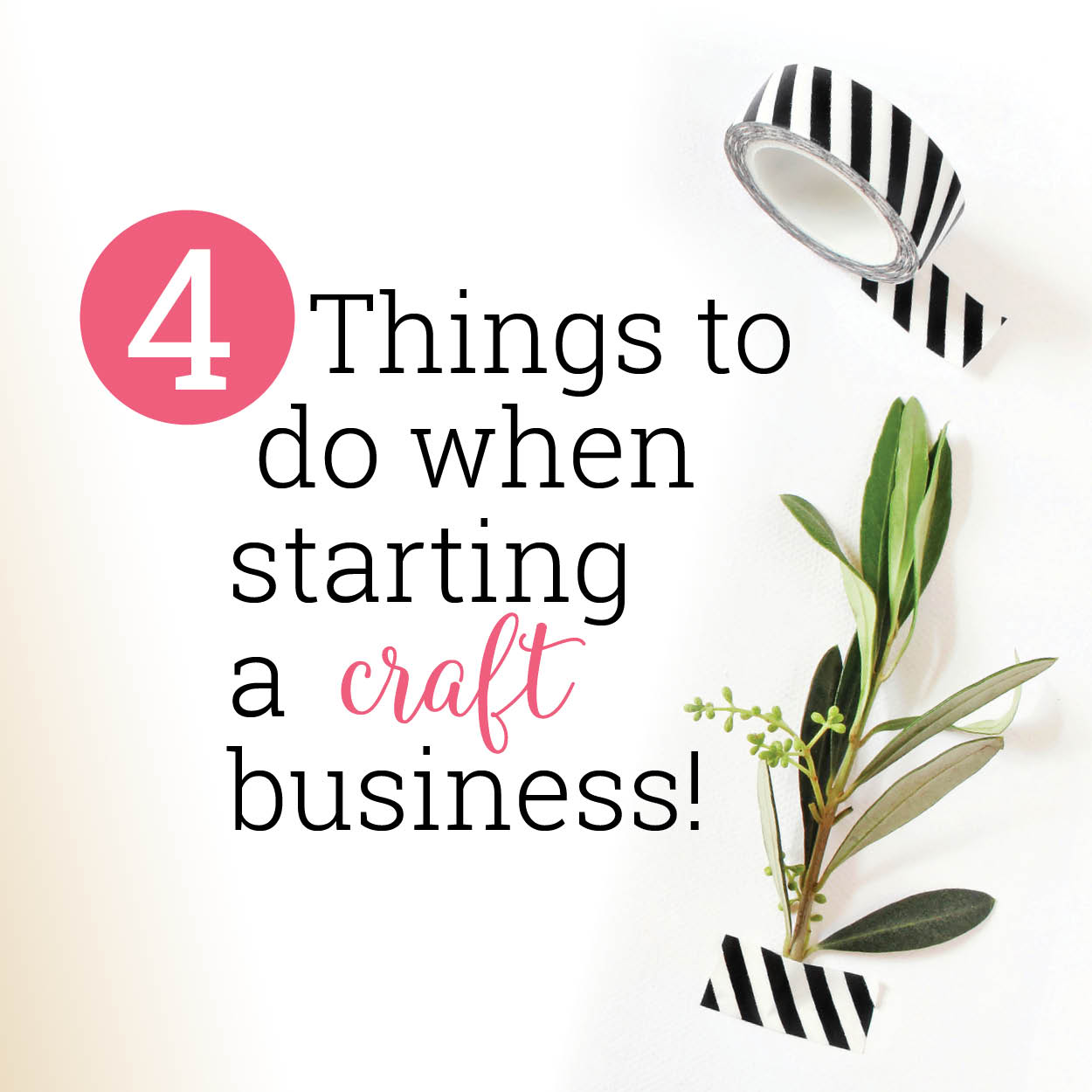 Start a craft business checklist