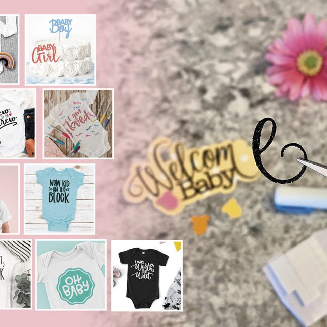 Free Baby Shower SVgs