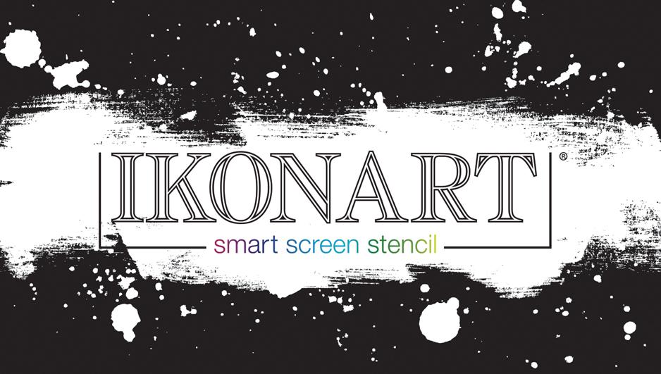 IkonArt Stencil Kit